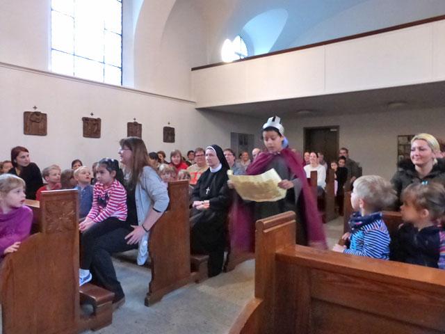 Weihnachtsfeier in der Kapelle