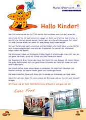 Kinderbrief für Schulkinder