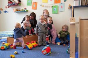 Kleinkindergruppe
