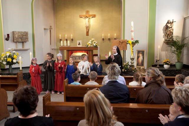Kindergottesdienst in der Kapelle