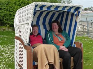 Mütter im Strandkorb