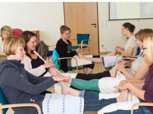 Anleitung zur Fußreflexzonentherapie