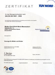 Zertifikat DIN