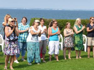 Sommerfest Mütter als Zuschauer