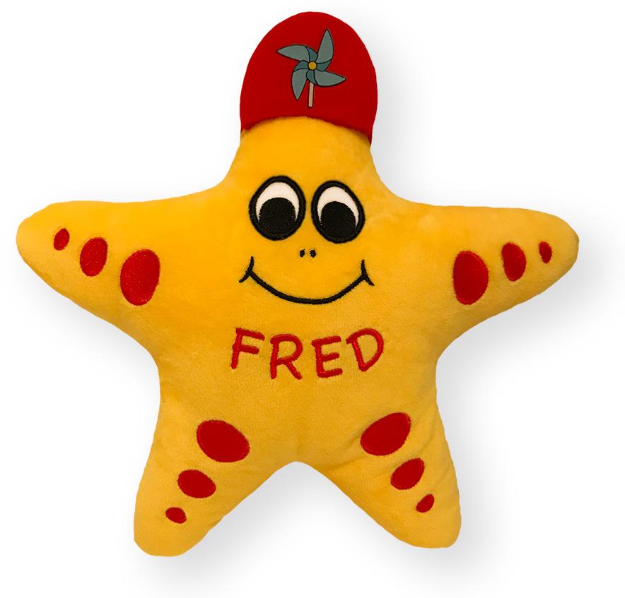Kuscheltier Fred