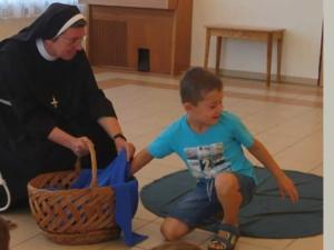 Kindergebet zum Anfassen
